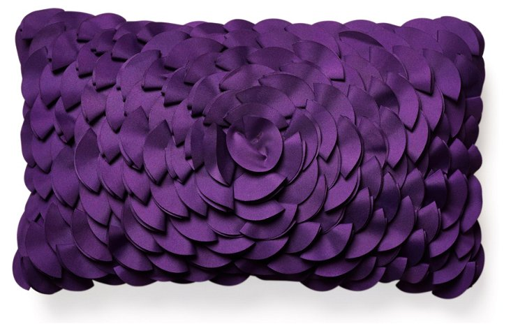 Peony 12x20 Outdoor Pillow, Purple