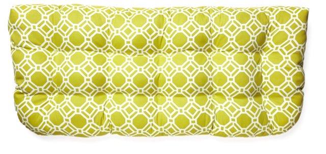 Ross 19x44 Outdoor Bench Cushion, Green