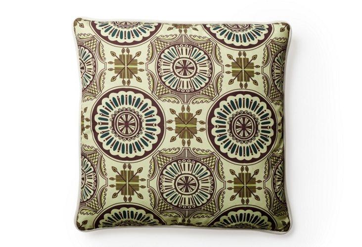 Tile 18x18 Outdoor Pillow, Multi