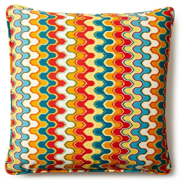 Lynn 20x20 Outdoor Pillow, Multi