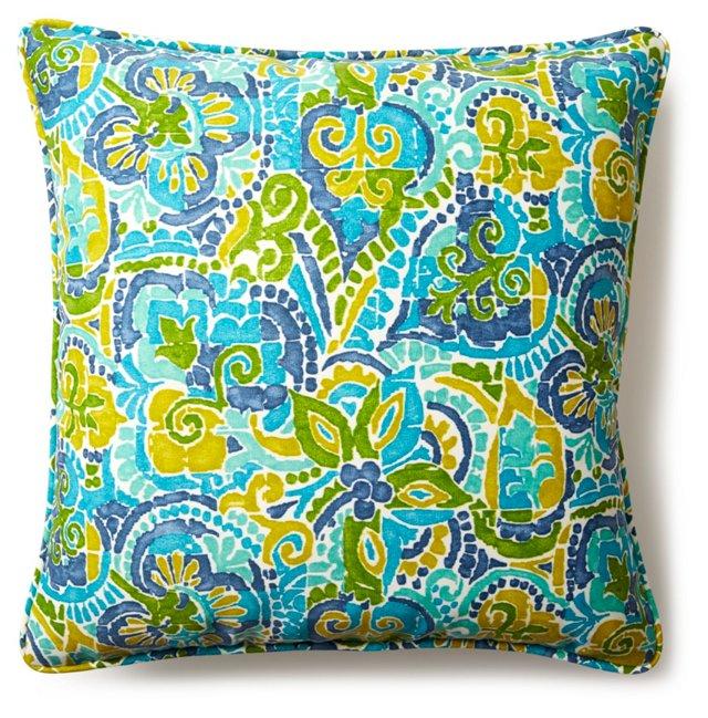 Adorn 20x20 Outdoor Pillow, Green