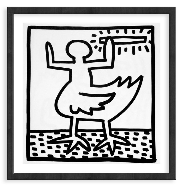 Keith Haring, Duck, 1982