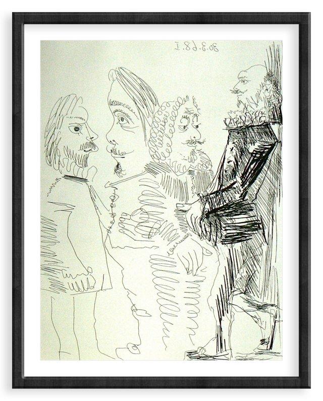 Picasso, Gravure 13, 1968