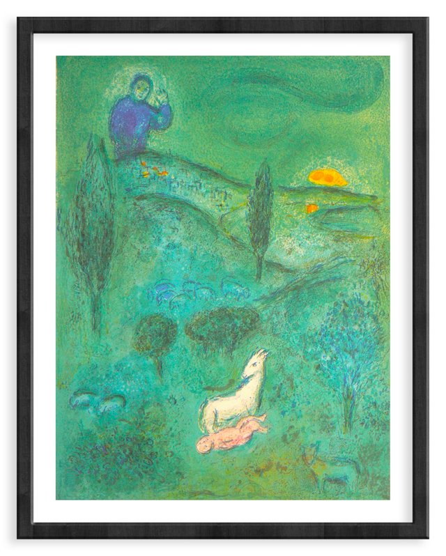 Chagall, 309, Lamon Discovers Daphnis