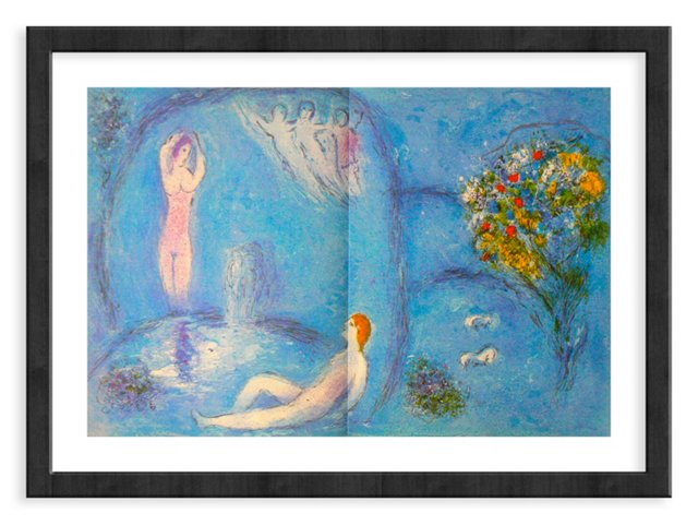 Chagall, Mourlot 321, The Nymphs Cave