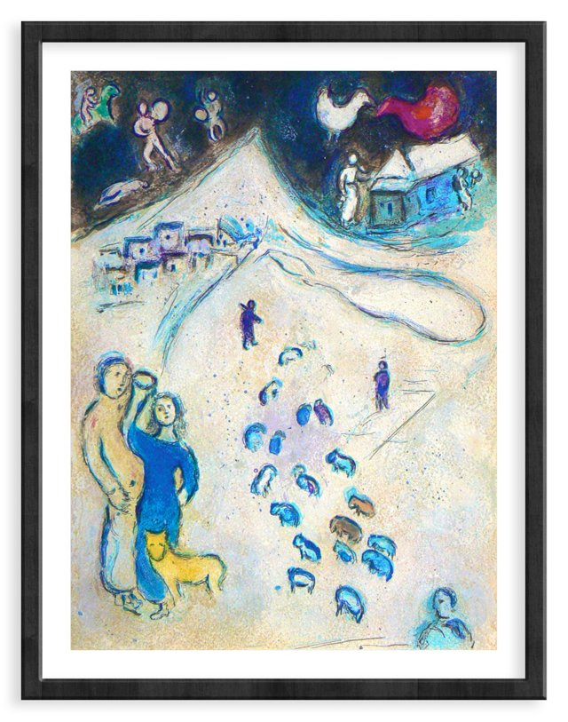 Chagall, Mourlot 333, Winter
