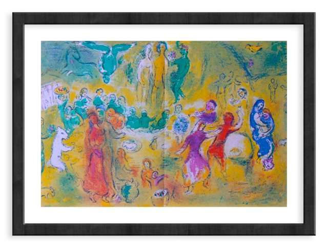 Chagall, Wedding Feast In Nymph's Grotto