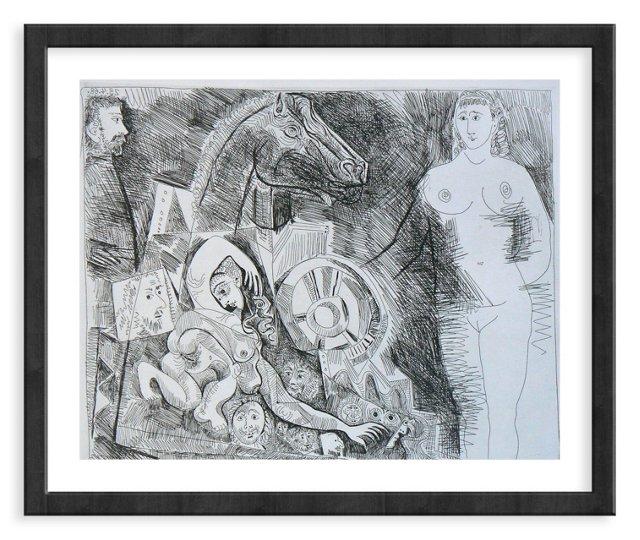 Picasso, Gravure 48, 1968