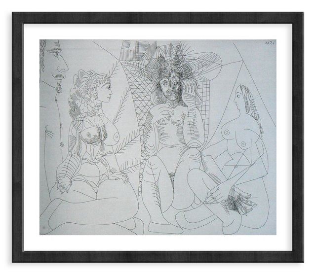 Picasso, Gravure 67, 1968