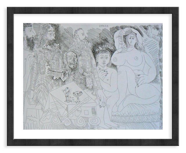 Picasso, Gravure 70, 1968