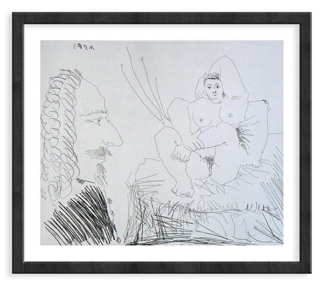 Picasso, Gravure 73, 1968