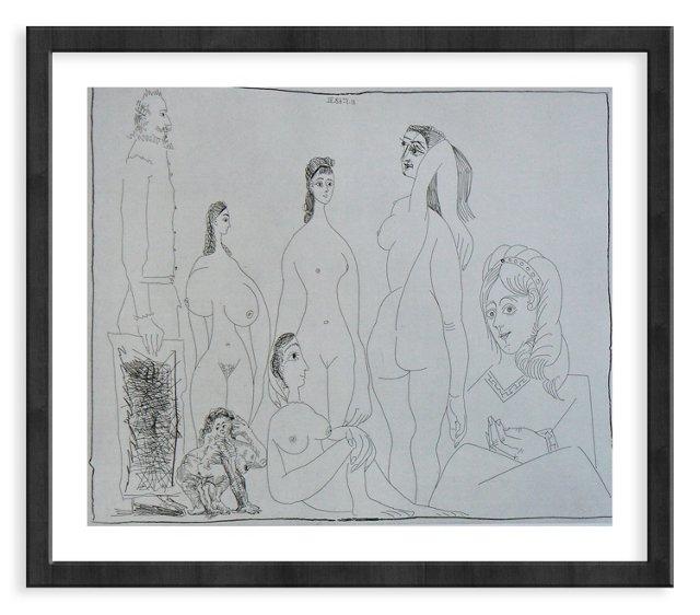 Picasso, Gravure 75, 1968