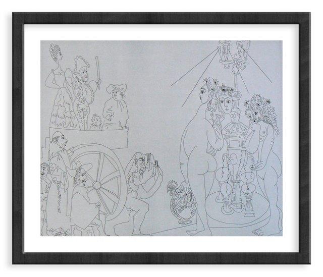 Picasso, Gravure 81, 1968