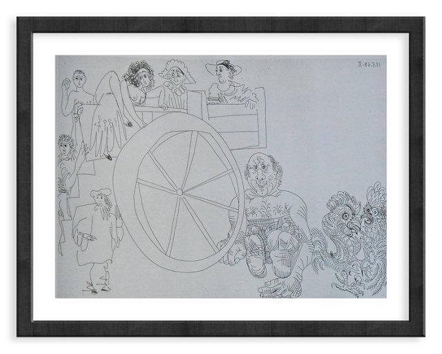 Picasso, Gravure 82, 1968