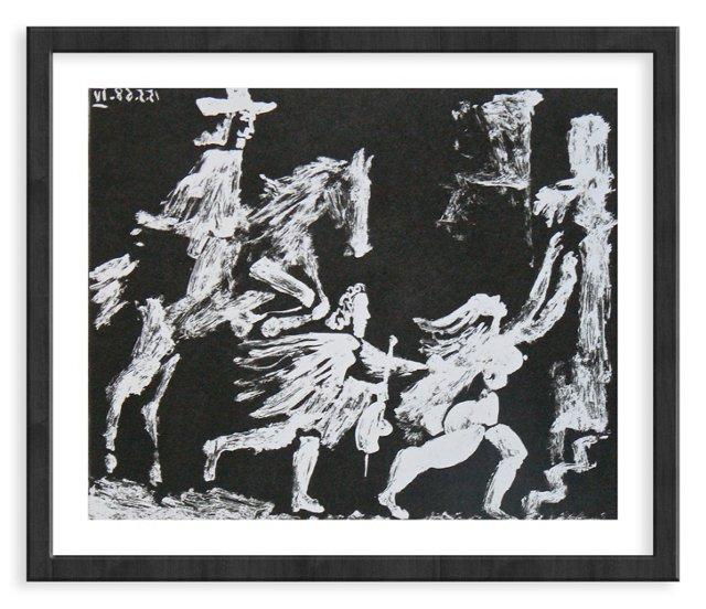 Picasso, Gravure 89, 1968