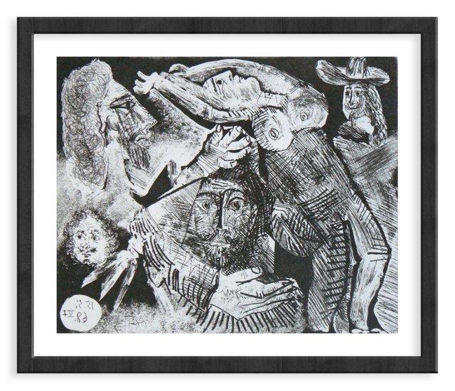 Picasso, Gravure 91, 1968