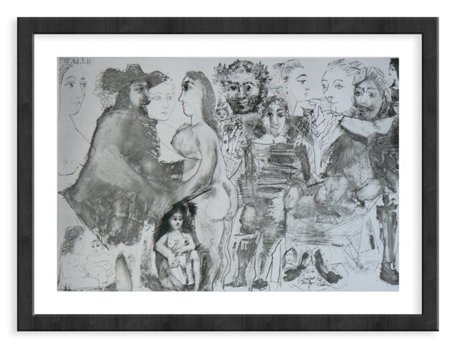Picasso, Gravure 97, 1968