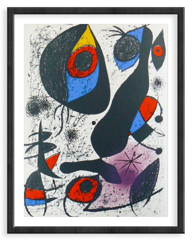 Miró, Original Lithograph I, Vol. 1