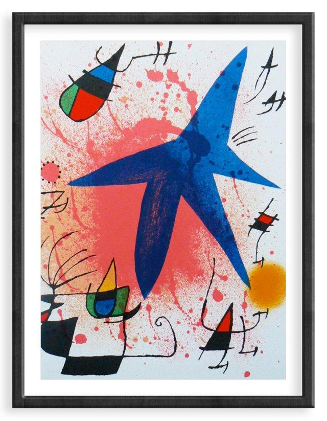 Miró, Original Lithograph III, Vol. 1