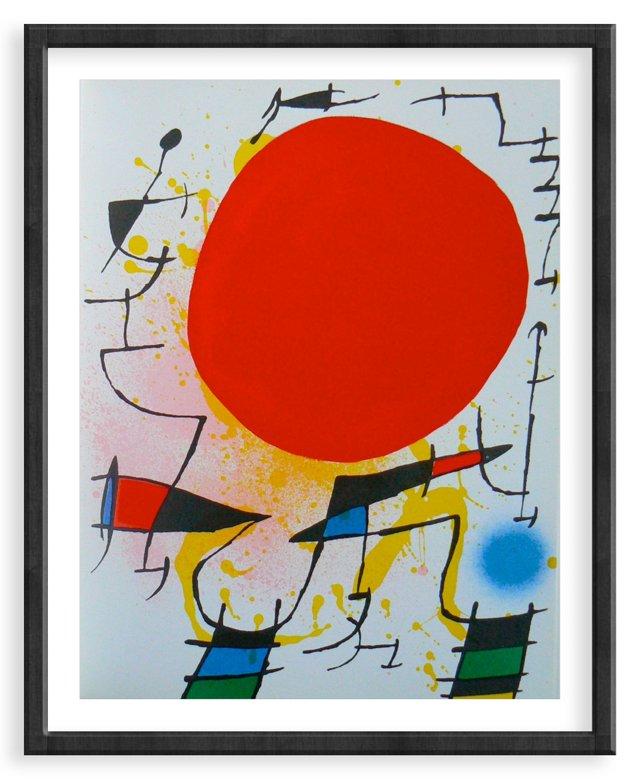 Miró, Original Lithograph V, Vol. 1