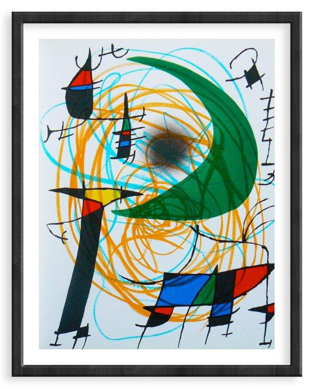 Miró, Original Lithograph VII, Vol. 1