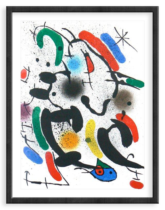 Miró, Original Lithograph VIII, Vol. 1