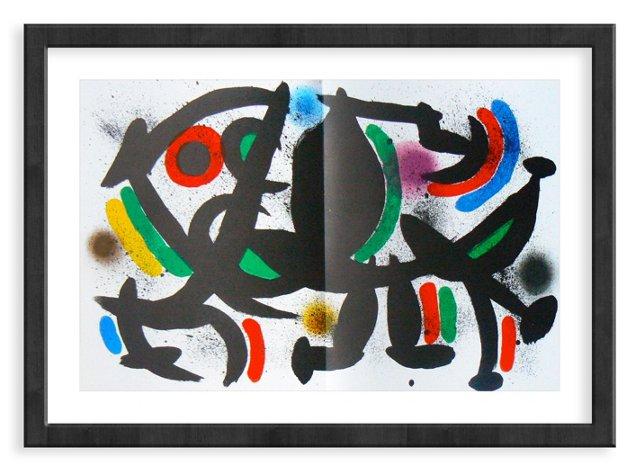 Miró, Original Lithograph X, Vol. 1