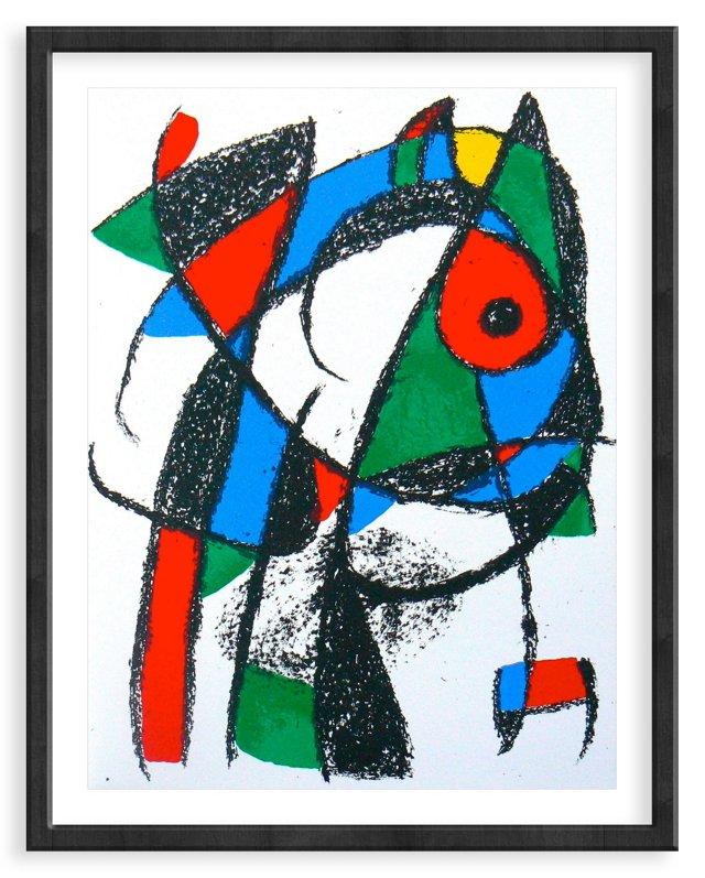 Miró, Original Lithograph I, Vol. 2