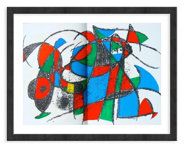 Miró, Original Lithograph III, Vol. 2