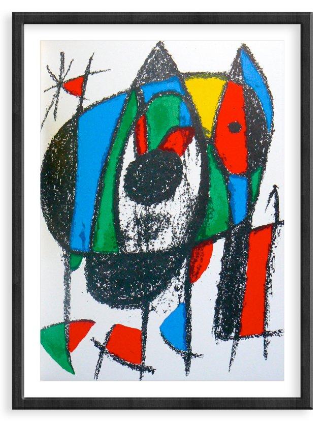Miró, Original Lithograph V, Vol. 2