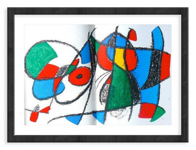 Miró, Original Lithograph VIII, Vol. 2