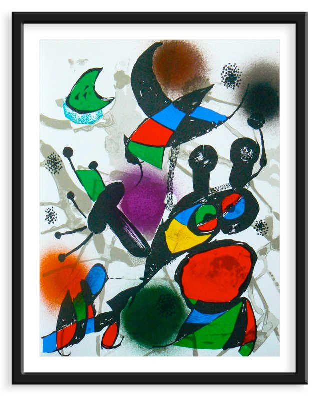 Miró, Original Lithograph III, Vol. 3