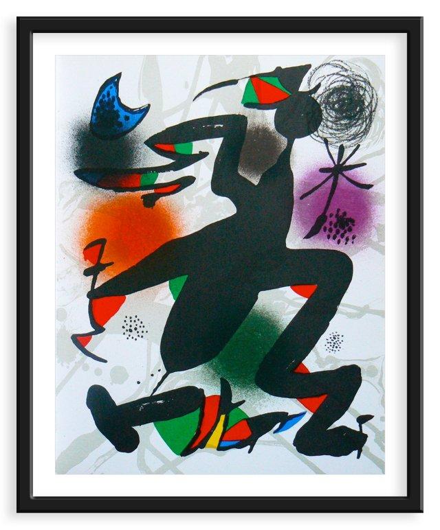 Miró, Original Lithograph V, Vol. 3