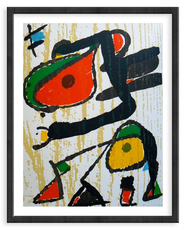 """Miró, """"Woodcut I"""" Vol. I.815"""