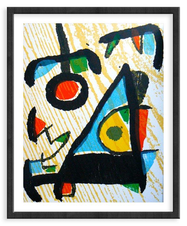 """Miró, """"Woodcut I"""" Vol. I.809"""