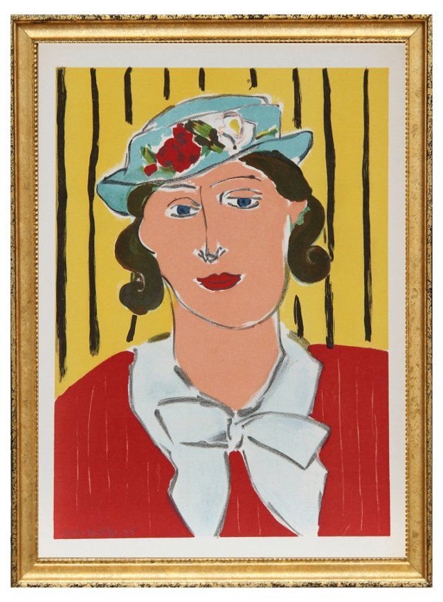 "Henri Matisse, ""Femme au Chapeau,"" 1939"