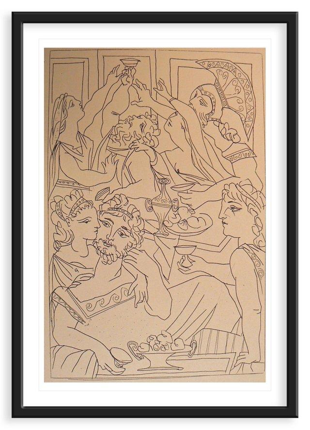 Picasso, Lysistrata of Aristophanes VI