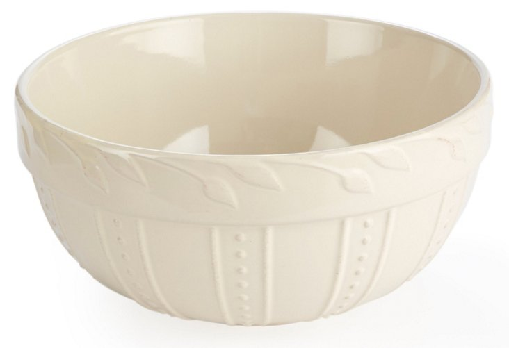 Large Mixing Bowl, Ivory