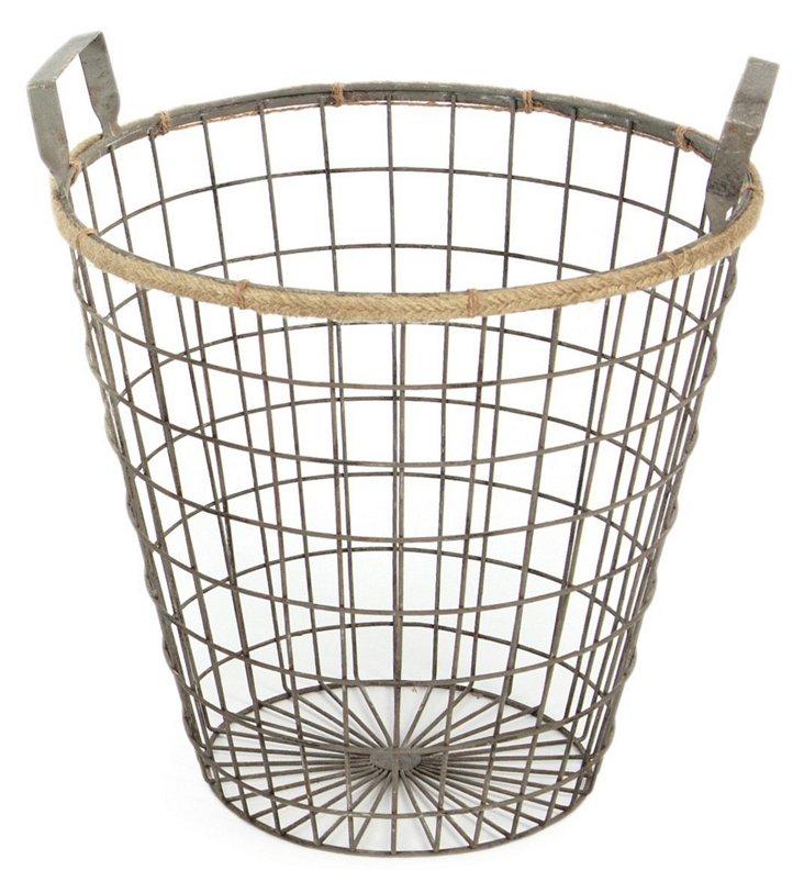 Round Wire Basket, Large