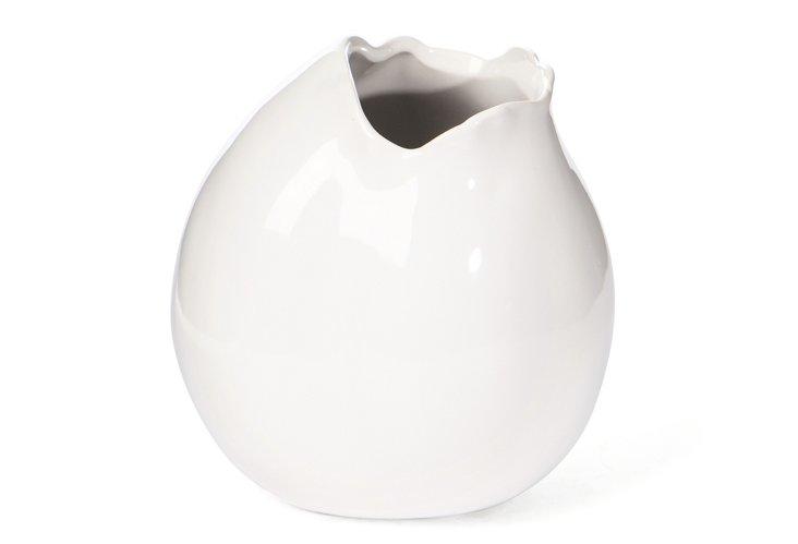 """S/2 6"""" Round Freeform Vases"""