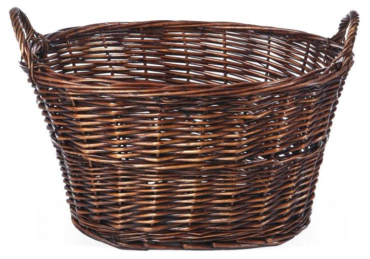 Large Brown Basket