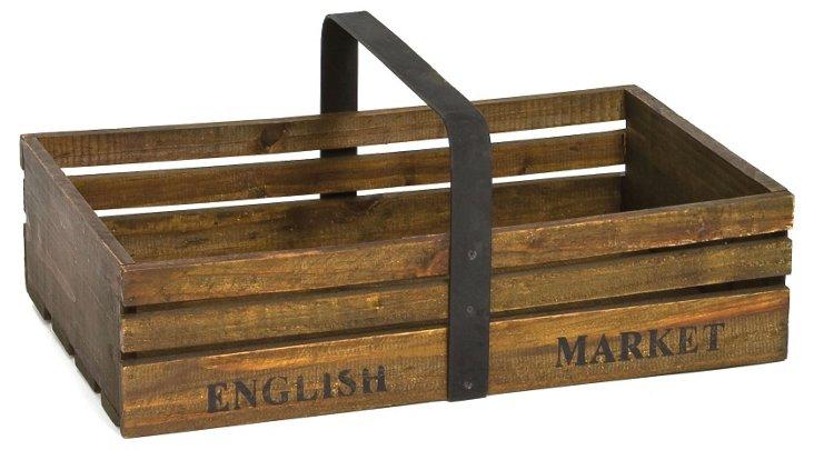 """10"""" English Market Slat"""
