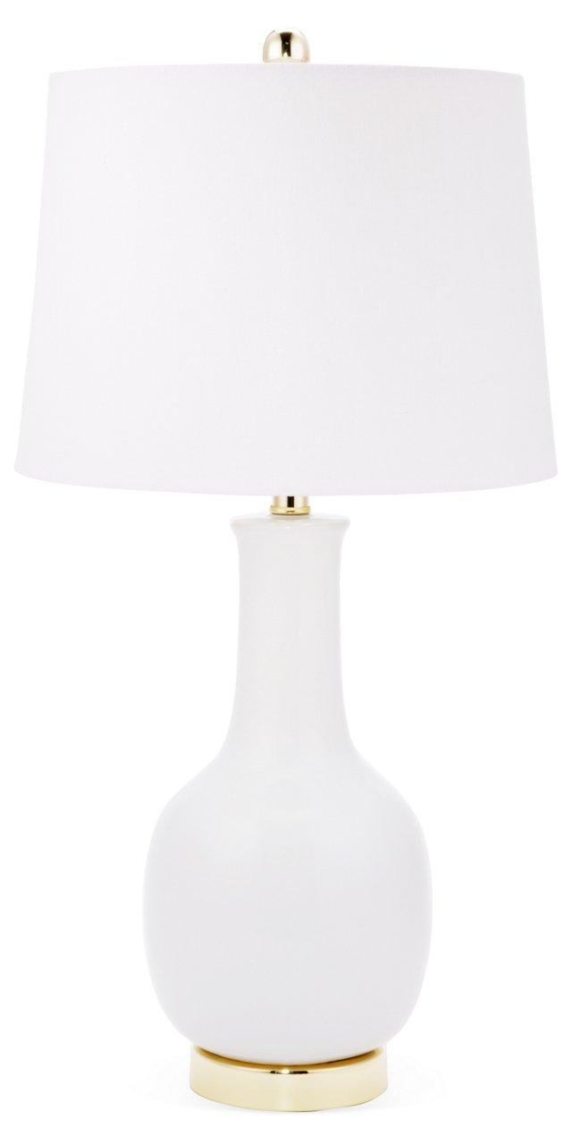 Margo Table Lamp, White