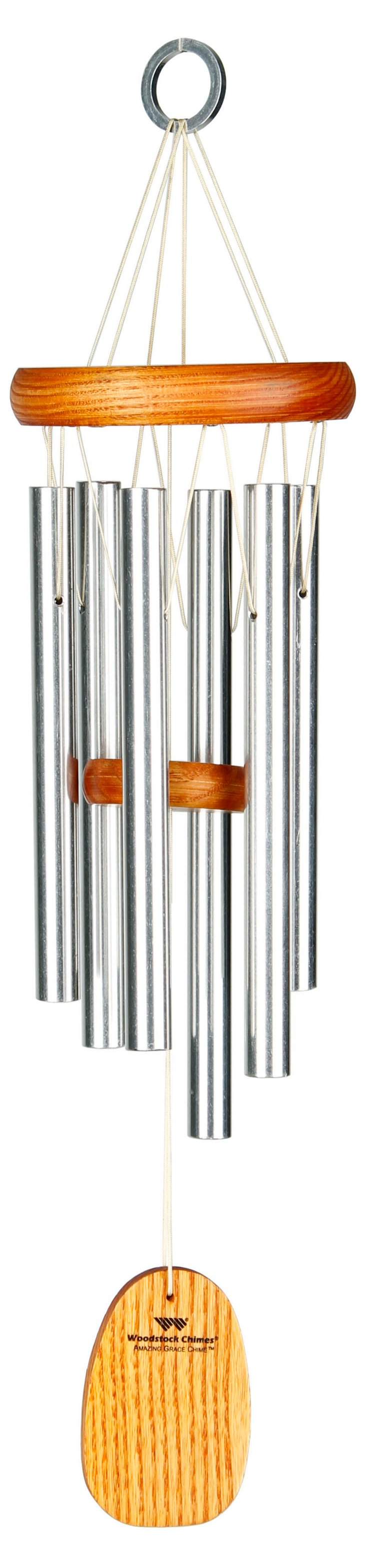 "16"" Amazing Grace Chime, Silver"