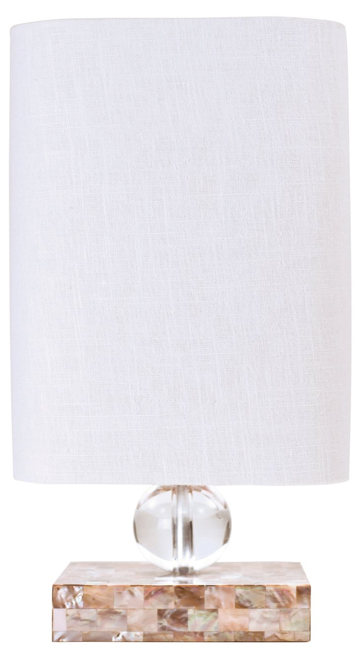 Catalina Table Lamp, Mother-of-Pearl