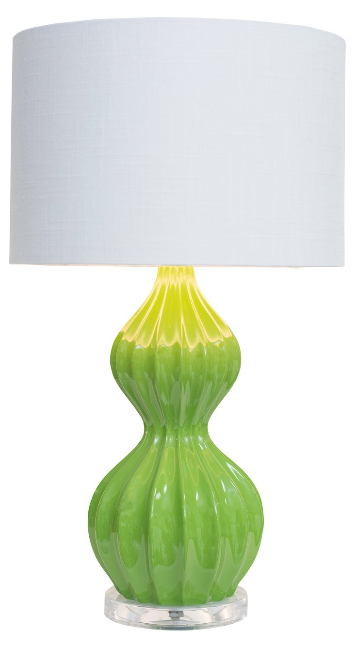 Owens Accent Table Lamp, Lime