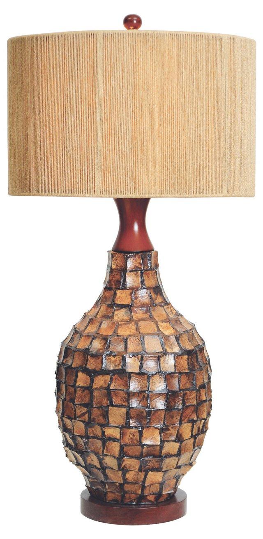 Ala Moana Table Lamp, Coconut Wood