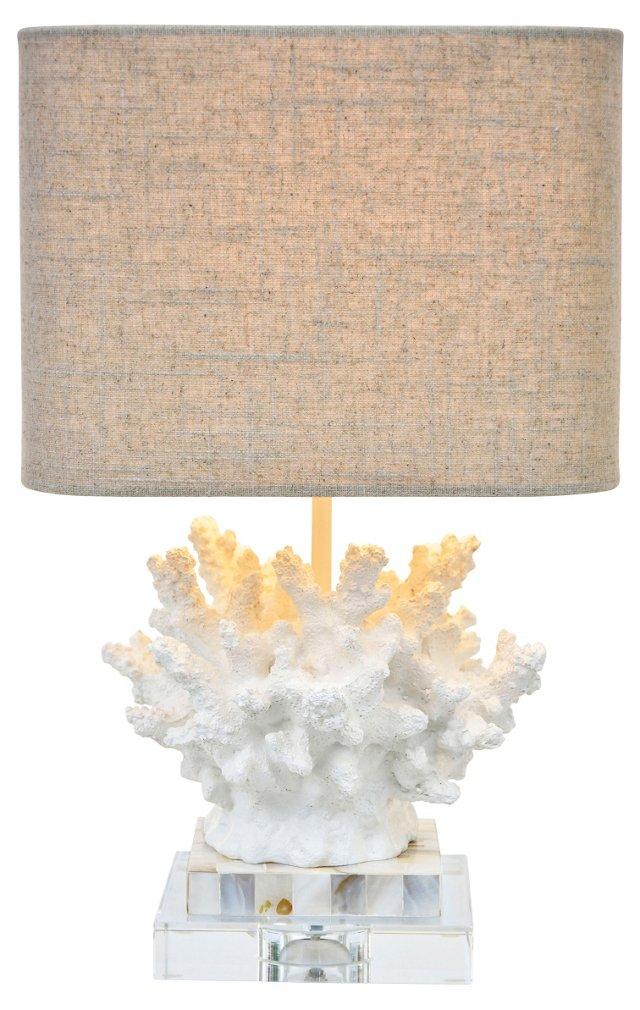 Wayfarer Table Lamp, Chalk White