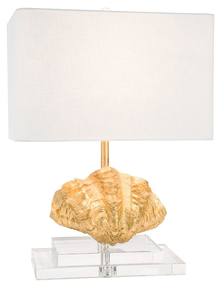 Abaco Table Lamp, Gold
