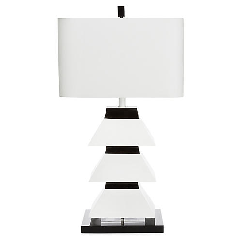 Erzi Table Lamp, Black